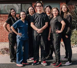 Dentist in Northeast El Paso, TX - Come by and visit us today to see why we're El Paso's best Family, Pediatric, and Cosmetic Dentist. We are located conveniently close to Fort Bliss off of Dyer St in North East El Paso.